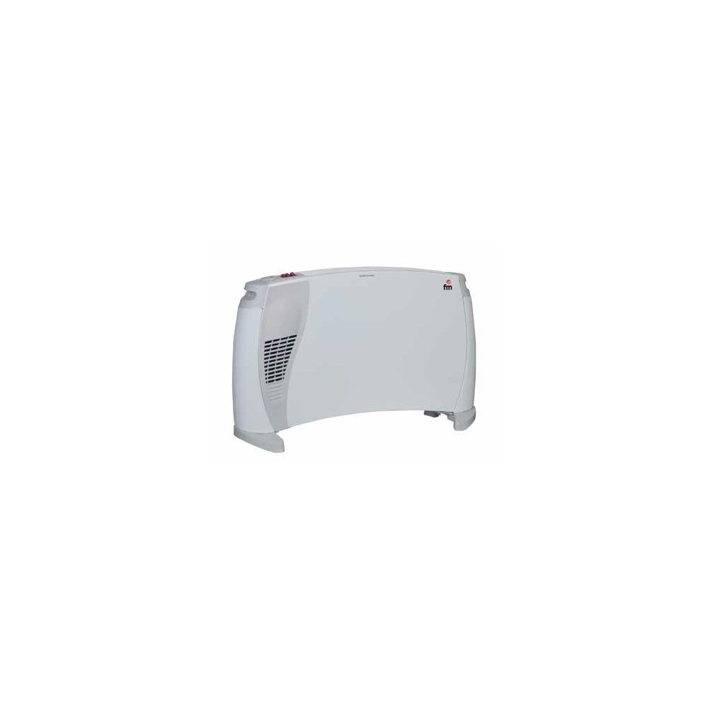 Convector FM RC-1101-Turbo 2000W 3 Potencias Seguridad