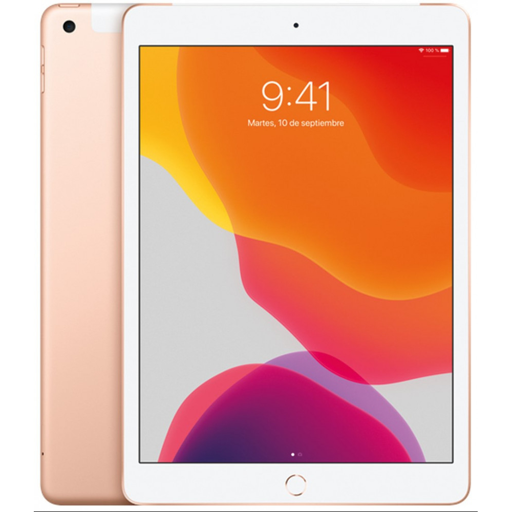Tablet Apple iPad Wi-Fi + Cellular 128 GB ORO 2019 iPadOS