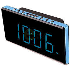 Radio Reloj Sunstech FRD28BL Azul
