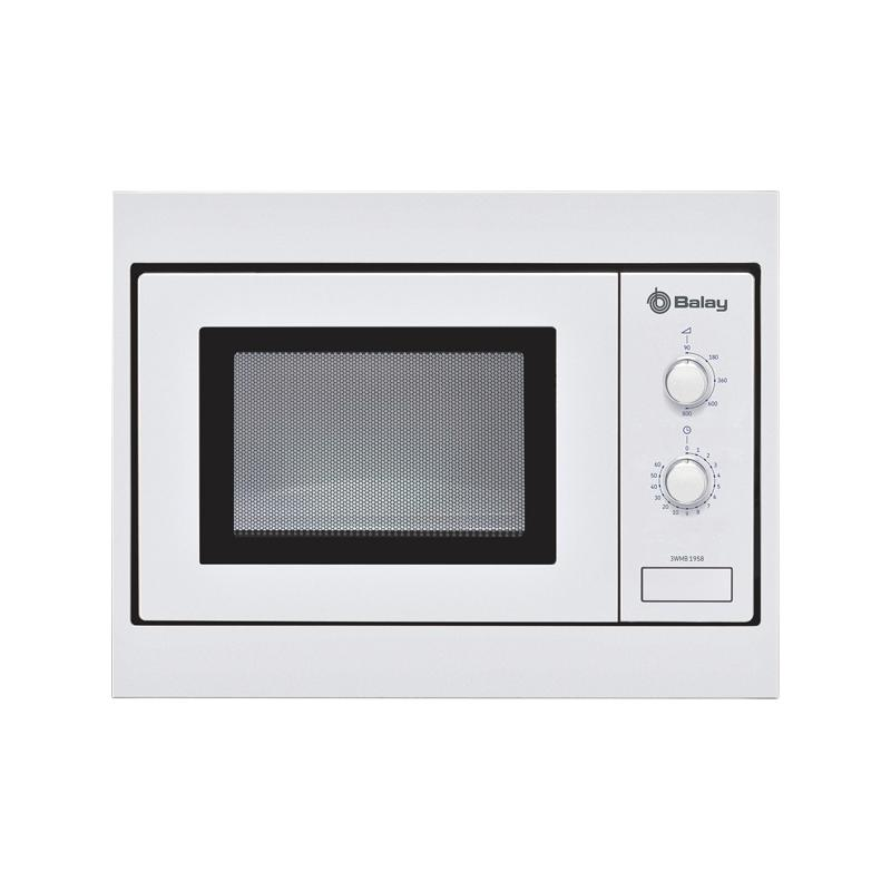 Horno Microondas BALAY 3WMB1958 Blanco 800W Integrable