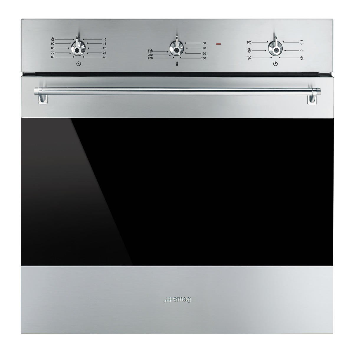 Horno Inox Antihuellas SMEG SF-6381 X 5 Niv. Coccion 79 litros Multifuncion