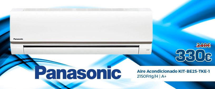 Aire Acondicionado Panasonic KIT-BE25-TKE-